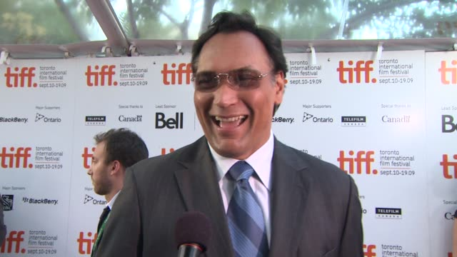jimmy smits on being at the festival and what attracted him to the role at the 'mother and child' premiere at toronto on - jimmy smits stock videos and b-roll footage