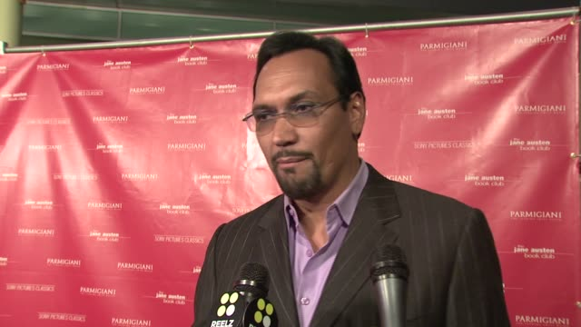 jimmy smits on working with a talented cast of women and the appeal of jane austen books today at the 'the jane austen book club' premiere at... - jimmy smits stock videos and b-roll footage