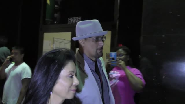 jimmy smits outside hamilton opening night at pantages theatre in hollywood in celebrity sightings in los angeles - jimmy smits stock videos and b-roll footage