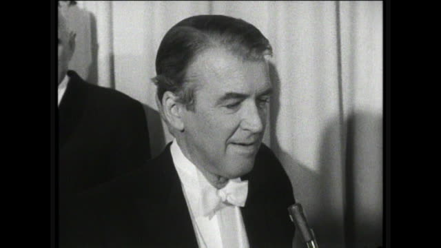 jimmy stewart interview favorite role jimmy i want to ask you about your motion picture career what was your favorite role stewart oh that's hard to... - frank capra video stock e b–roll
