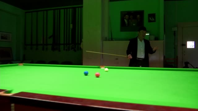 jimmy white 'the whirlwind' finally wins world snooker championship england int jimmy white interview sot - world championship stock videos and b-roll footage