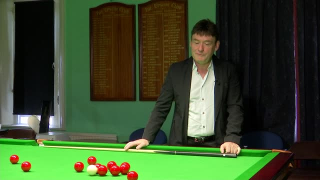 jimmy white 'the whirlwind' finally wins world snooker championship england int jimmy white interview sot various shots of white playing snooker... - world championship stock videos and b-roll footage