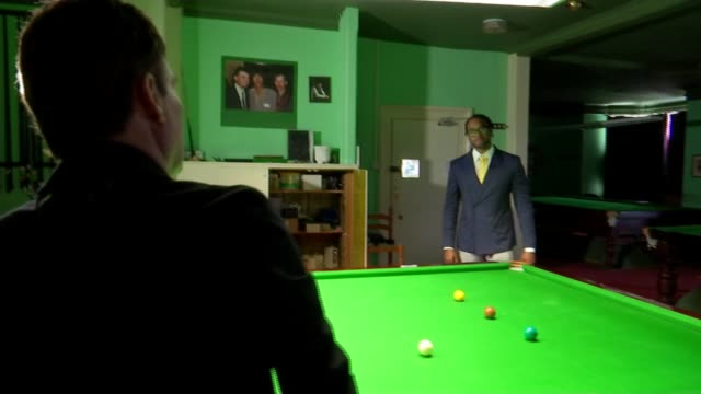 jimmy white 'the whirlwind' finally wins world snooker championship england int jimmy white playing snooker jimmy white interview sot - world championship stock videos and b-roll footage