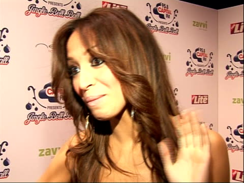 arrivals and interviews amelle interview sot on getting to grips with lots of guys in their new video how she kneed one in the groin x factor and who... - reality fernsehen stock-videos und b-roll-filmmaterial