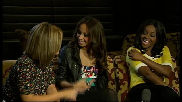 Jingle Bell Ball concert INT Sugababes interview SOT James Morrison interview SOT Keisha Buchanan interview SOT Morrison interview SOT