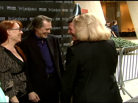 jo andres and steve buscemi at the 'paris je t'aime' premiere at paris theater in new york new york on may 1 2007 - steve buscemi stock videos & royalty-free footage