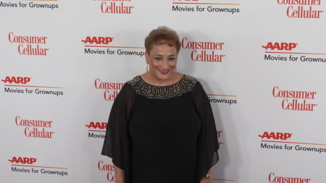 jo ann jenkins at the 18th annual movies for grownups awards at the beverly wilshire four seasons hotel on february 04, 2019 in beverly hills,... - フォーシーズンズホテル点の映像素材/bロール