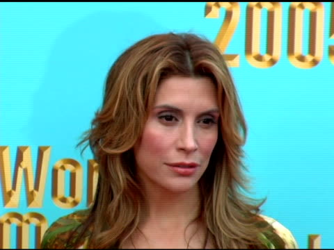 Jo Champa at the 2005 World Music Awards arrivals at the Kodak Theatre in Hollywood California on September 1 2005