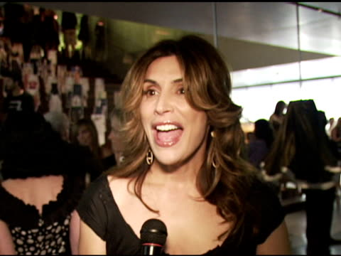Jo Champa on being Italian and knowing Miuccia Prada on always loving Prada on Prada bags at the Los Angeles Opening of 'Waist Down Skirts by Miuccia...