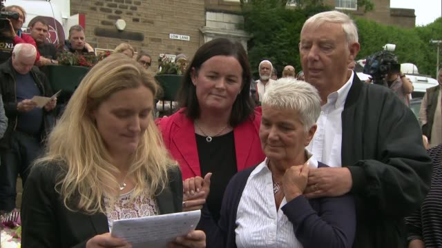 family pay tribute / thomas mair appears in court kim leadbeater speaking to press sot but w e will mend over time and we will never let jo leave our... - thomas mair stock videos and b-roll footage