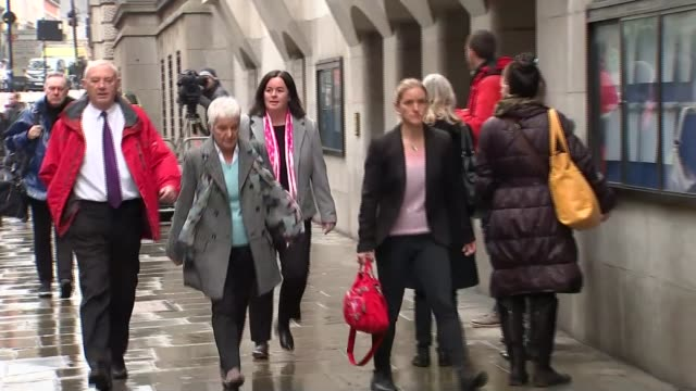 jury shown pictures inside thomas mair's house kim leadbeater jean leadbeater and gordon leadbeater along outside court - thomas mair stock videos and b-roll footage