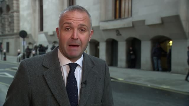 thomas mair won't give defence evidence reporter to camera - thomas mair stock videos and b-roll footage
