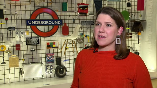 jo swinson criticising jeremy corbyn for remaining neutral in a potential second eu referendum - chance stock videos & royalty-free footage