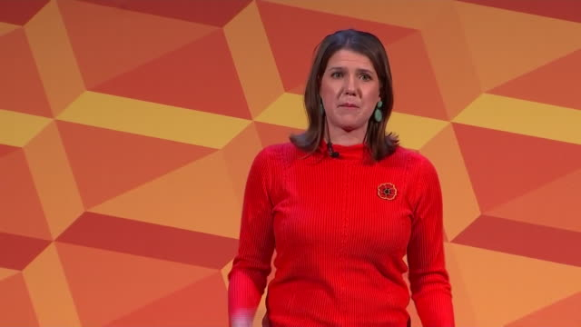 jo swinson saying a lib dem government would provide working parents with free highquality childcare from when they're 9 monthsold until their first... - child care stock videos & royalty-free footage
