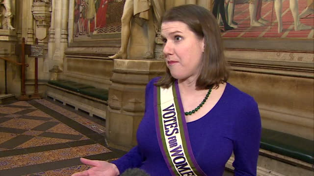 jo swinson saying there are still many issues to address in regards to women's rights on the centenary of suffrage - women's issues stock videos & royalty-free footage