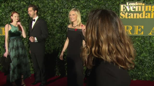stockvideo's en b-roll-footage met jo whiley at kensington palace on november 13 2016 in london england - jo whiley