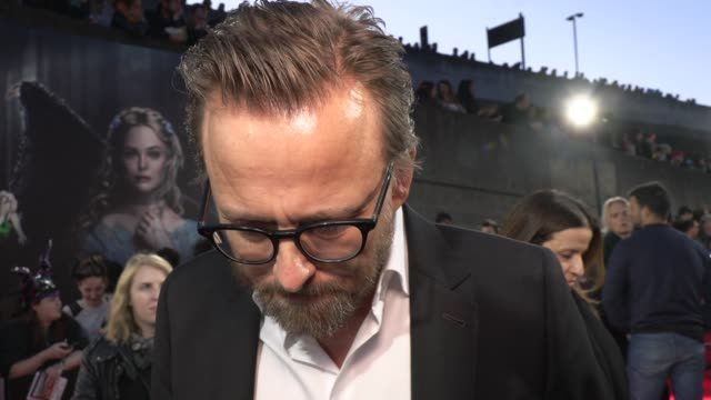 joachim ronning director on directing the maleficent sequel and his working relationship with angelina jolie at odeon imax waterloo on october 09... - europe stock videos & royalty-free footage