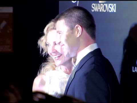 joan allen and josh stolz at the costume designer's awards at the beverly hilton in beverly hills california on february 25 2006 - joan allen stock videos and b-roll footage