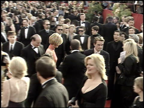 joan allen at the 2001 academy awards at the shrine auditorium in los angeles california on march 25 2001 - 73rd annual academy awards stock videos & royalty-free footage