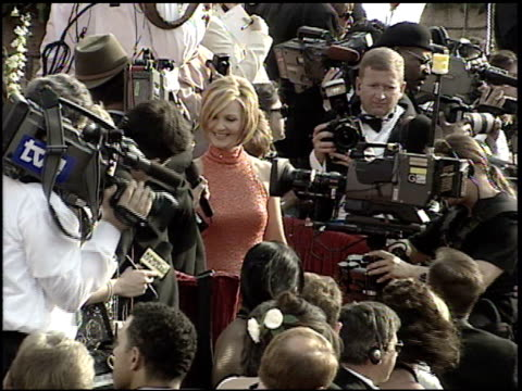 joan allen at the 2001 academy awards at the shrine auditorium in los angeles california on march 25 2001 - joan allen stock videos and b-roll footage