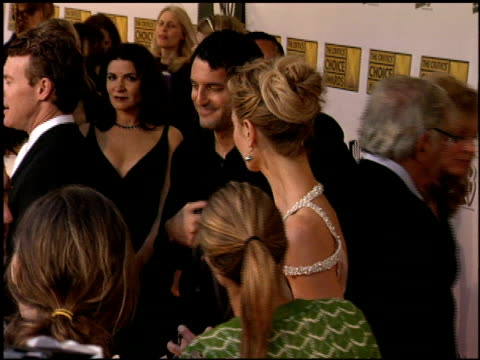 joan allen at the 2006 annual critic's choice awards at santa monica civic auditorium in santa monica california on january 9 2006 - joan allen stock videos and b-roll footage