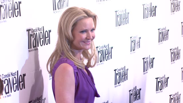 joan allen at the conde nast traveler celebrates its 8th annual hot list party at mansion in new york new york on april 17 2008 - joan allen stock videos and b-roll footage