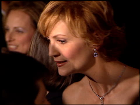 joan allen at the director's guild dga awards at the century plaza hotel in century city california on march 10 2001 - joan allen stock videos and b-roll footage