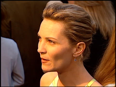 joan allen at the 'face/off' premiere at grauman's chinese theatre in hollywood california on june 19 1997 - joan allen stock videos and b-roll footage
