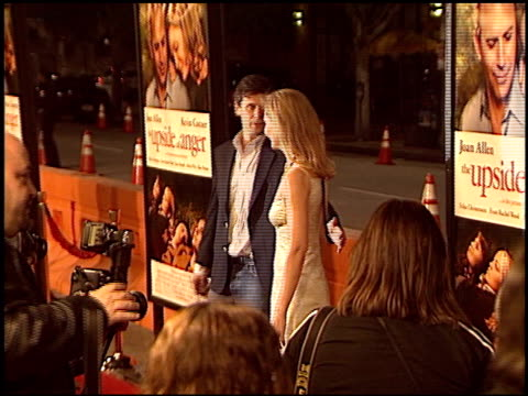joan allen at the premiere of 'the upside of anger' on march 3 2005 - joan allen stock videos and b-roll footage