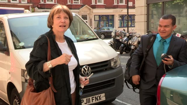 joan bakewell at celebrity video sightings on july 09, 2013 in london, england - joan bakewell stock videos & royalty-free footage