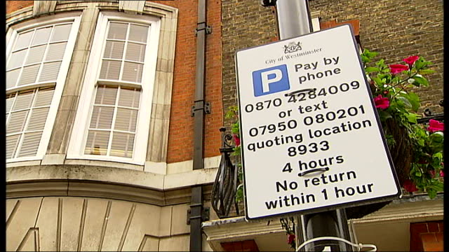 joan bakewell wins phone parking fine case against westminster council; england: london: westminster: ext joan bakewell using mobile phone sue morris... - joan bakewell stock videos & royalty-free footage