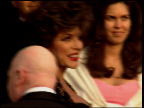 joan collins at the 1996 academy awards vanity fair party at morton's in west hollywood california on march 25 1996 - 68th annual academy awards stock videos and b-roll footage