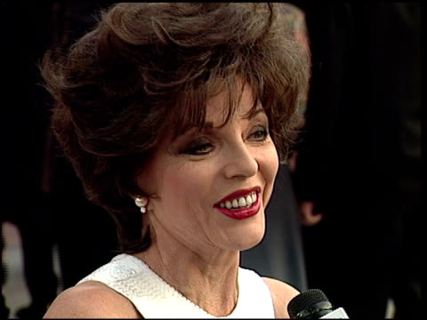 Joan Collins at the 1997 Academy Awards Vanity Fair Party at the Shrine Auditorium in Los Angeles California on March 24 1997