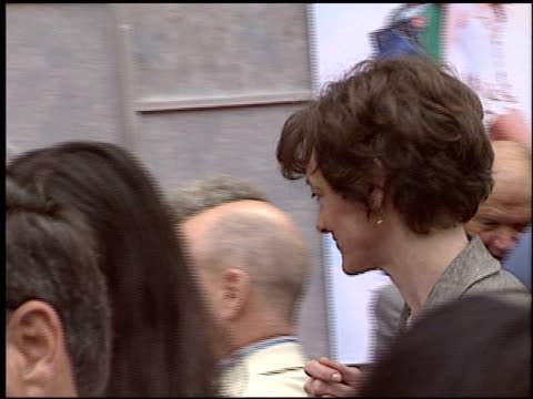 joan cusack at the 'ice princess' premiere at the el capitan theatre in hollywood, california on march 13, 2005. - el capitan theatre stock videos & royalty-free footage