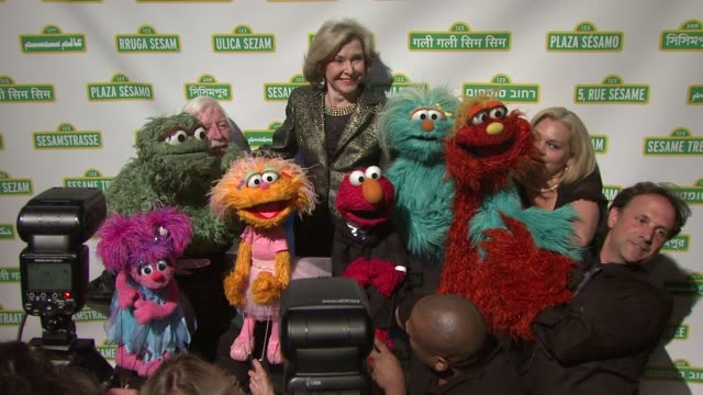 joan ganz cooney at 10th annual sesame workshop benefit gala at cipriani 42nd street on may 30 2012 in new york new york - gala stock videos and b-roll footage
