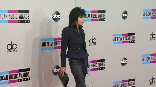 Joan Jett arrives at the 2013 American Music Awards Arrivals