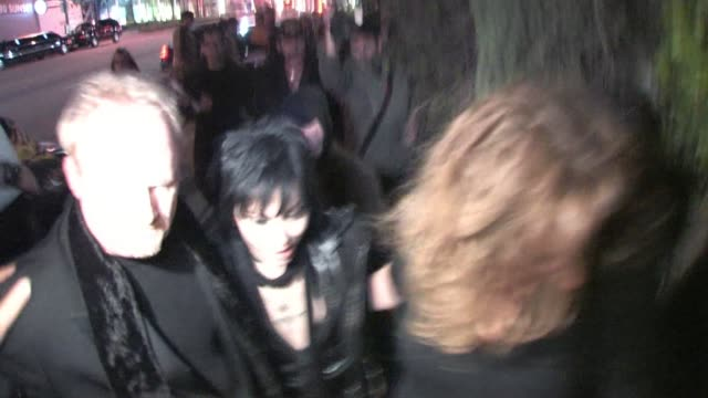 Joan Jett at Cabana Club in Hollywood at the Celebrity Sightings in Los Angeles at Los Angeles CA