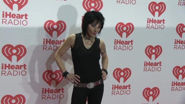 Joan Jett at iHeartRadio Music Festival Village Day 2 Joan Jett at iHeartRadio Music Festival Village on September 21 2013 in Las Vegas Nevada