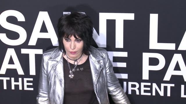 Joan Jett at Saint Laurent Event at Hollywood Palladium on February 10 2016 in Los Angeles California