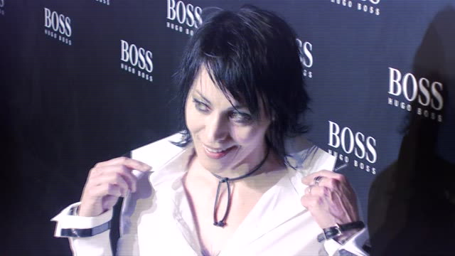 Joan Jett at the HUGO BOSS Hosts BOSS Black Fashion Show at Cunard Building in New York New York on October 17 2007