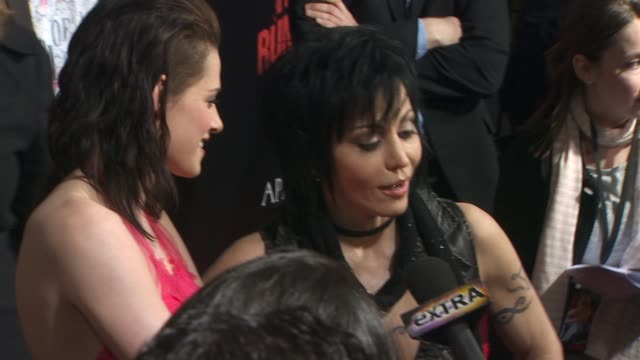 Joan Jett at the 'The Runaways' Premiere at Hollywood CA