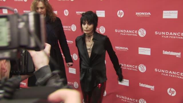Joan Jett at the 'The Runaways' Premiere Sundance Film Festival 2010 at Park City UT