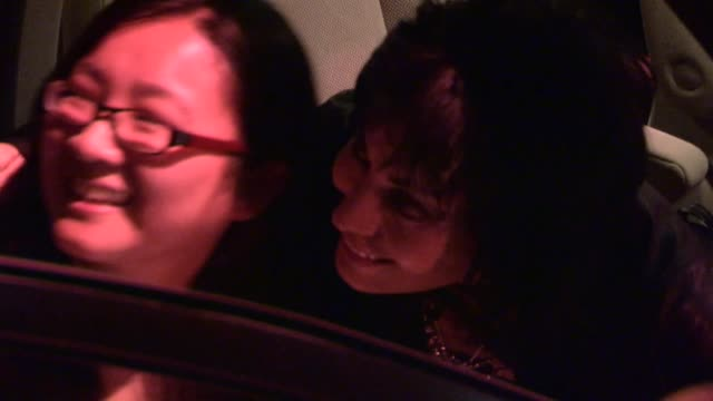 Joan Jett greets fans departing Joan Jett Concert After Party at House of Blues in West Hollywood at Celebrity Sightings in Los Angeles Joan Jett...