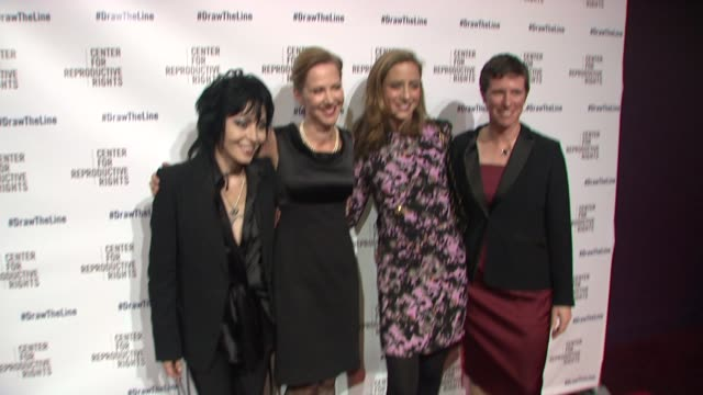 Joan Jett Nancy Northup and guests at Center for Reproductive Rights 2013 Gala at Jazz at Lincoln Center on 10/29/13 in New York City