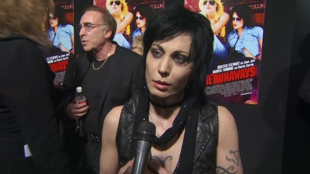 Joan Jett on why she wanted to tell her story now on what advice she gave Kristen Stewart to help her prepare for her role and on her reaction the...