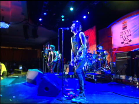 Joan Jett the Blackhearts at the The 18th Annual Race To Erase MS CoChaired By Nancy Davis And Tommy Hilfiger at Los Angeles CA