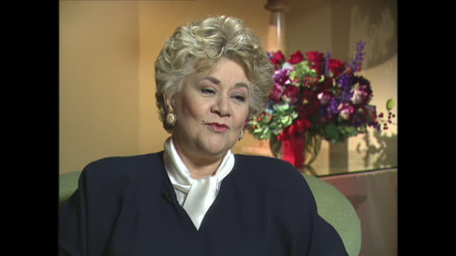 joan plowright on her arts background and her father's doubts about her acting career - father stock videos & royalty-free footage