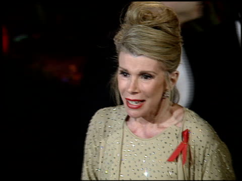 Joan Rivers at the 1995 Academy Awards Morton Party at Morton's in West Hollywood California on March 27 1995