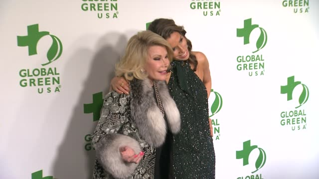 joan rivers at the global green usa 11th annual pre-oscar® partyat avalon on february 26, 2014 in hollywood, california. - oscar party stock videos & royalty-free footage