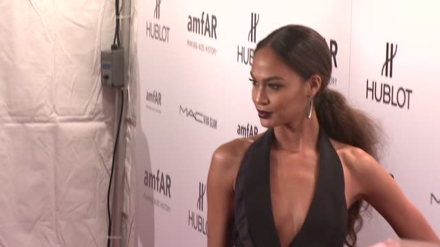 joan smalls at amfar new york gala to kick off fall 2012 fashion week on in new york - joan smalls stock videos & royalty-free footage